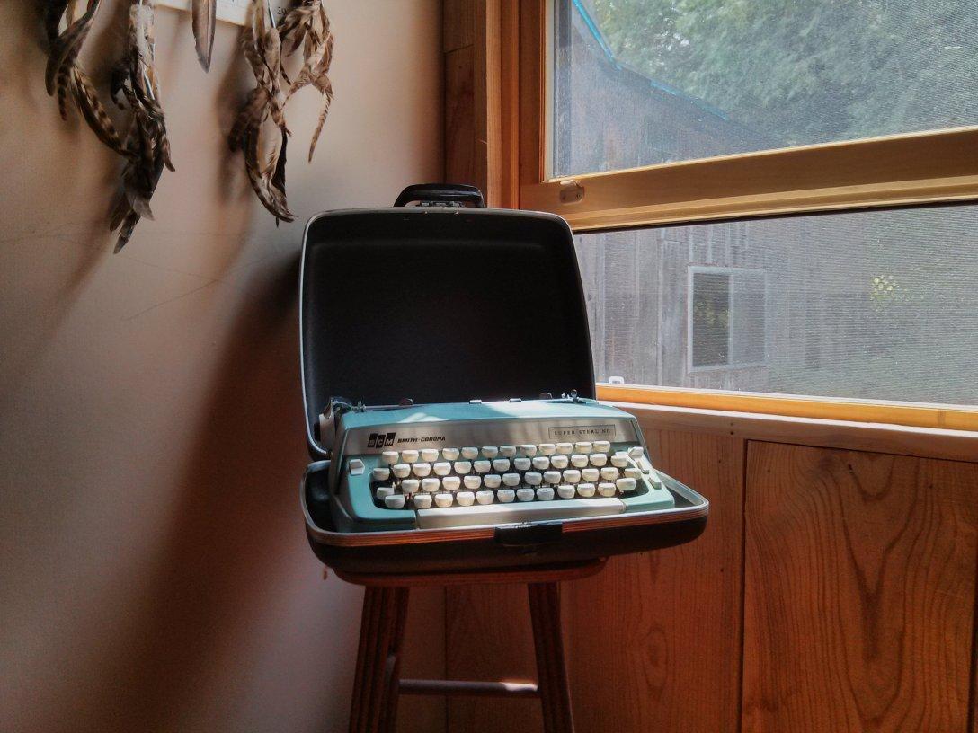 Al Purdy's Typewriter